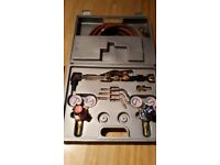 Clarks gas welding set only used a few times very good condition plus two flash arrestors