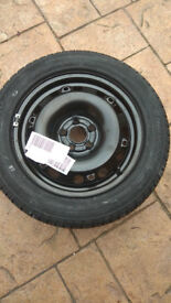 VW POLO SKODA FABIA SEAT 15'' STEEL WHEEL AND TYRE BRAND NEW *******************