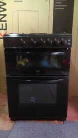 LOGIK 60Cm Gas Cooker in Ex Display which may have minor marks or blemishes.