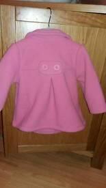 Baby girls winter coat size 9-12