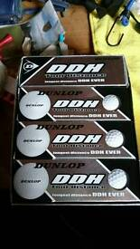Dunlop tour distance golf balls