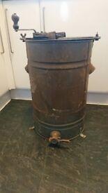 Vintage honey separator churn
