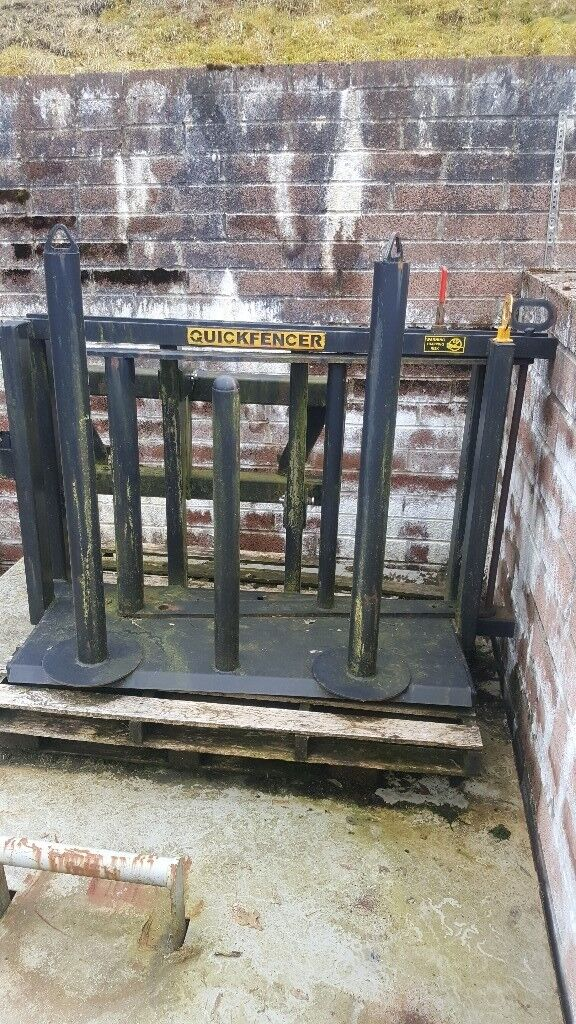 8 Point Socket >> Quick fencer with fence sleeves | in Ebbw Vale, Blaenau Gwent | Gumtree