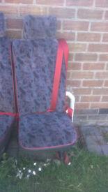TRANSIT MINI BUS SEATS