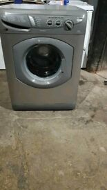 Silver A+ Class Hotpoint Aquarius Washing Machine In Good Working Order And Condition