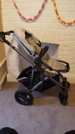 Brittax Smile Pushchair and carry cot