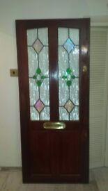 Lovely flat door