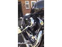 Harley Davidson XL1200C Sportster Custom. Stage One. Long MOT.