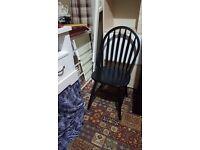 Brand new 4 dinning chairs black £150