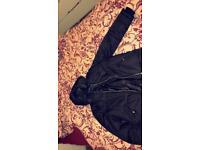 Woman topshop black puffer jacket