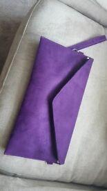 Purple Clutch - Brand New