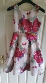 CHILDS BRIDESMAID/SPECIAL OCCASION DRESS.