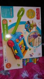 Pull along toy