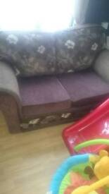 2seatwr and chair £15