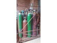 FREE WELDING GAS BOTTLE