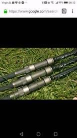Nash Entity carp rods