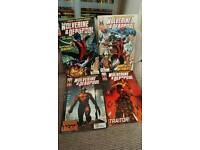 Wolverine/ Deadpool comics