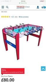4ft Football table (Brand New in Box) Christmas present?