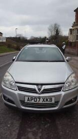 Vauxhall astra estate design auto 1.8 petrol
