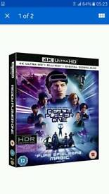 Ready player one 4k UHD bluray movie only (COPY)