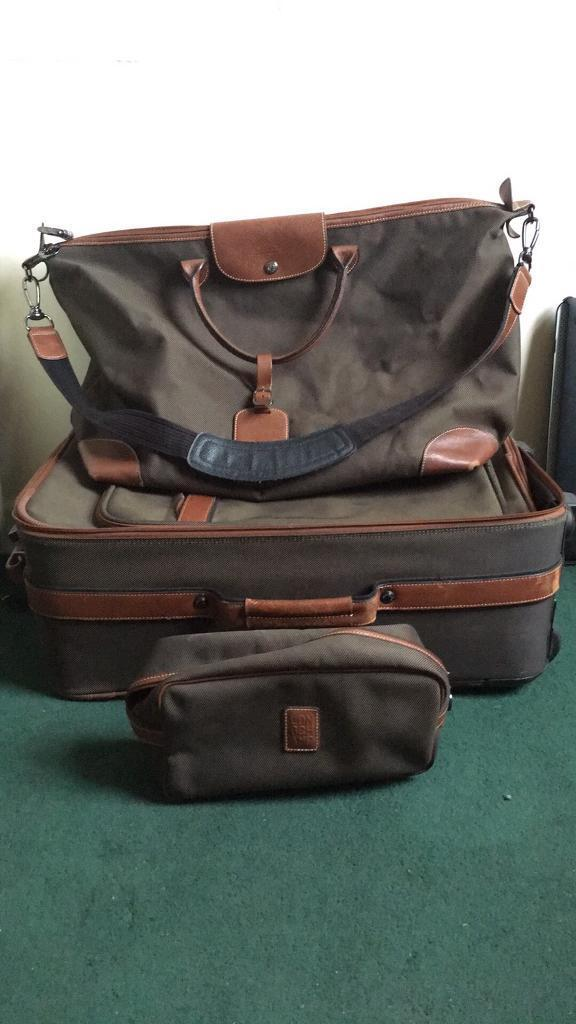 Full set Longchamp Boxford Duffel - Travel Bag + Cabin Luggage + Wash bag.  Limited edition, unisex. edbb05d27e
