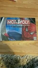 Monopoly spiderman brand new
