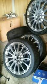 22inch turbine alloys range rover