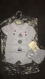 Baby boy outfit 0-3months
