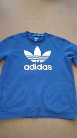 Mens addidas jumper size large
