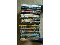 SELECTION OF DVDS 50P EACH OR £8 THE LOT