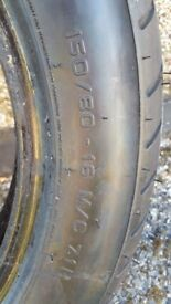 Motorbike tyre for sale
