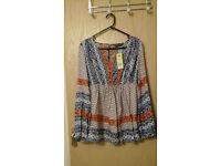 Brand New Maternity tunic. size 12