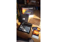 Maschine Mk2 (Perfect Condition) + Cover + Stand