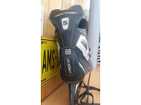 CCM Vector 3.0 Special Edition Black and Silver Ice Hockey Skates - Size 9D - UK 9.5 - EU 44 £20