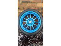 "16"" OZ SuperLeggeras Inc Tyres, 4x100, civic, micra, polo, lupo, corolla, starlet fitment"