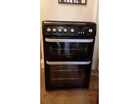 Black Hotpoint Ultima gas cooker vgc £250