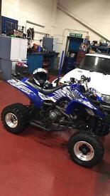 Yamaha raptor 660r road legal quad bike