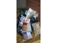 Free ready to take away golden flint gravel stone for driveways and gardens