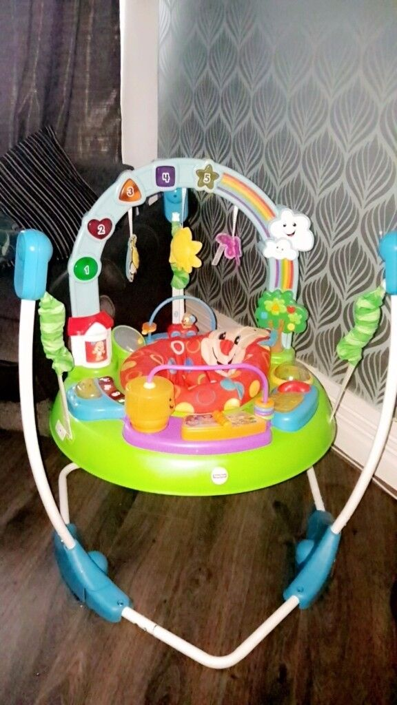 Fisher-price bouncer only used for 3 months.