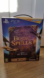 Perfect condition PS3 Book of Spells wonderbook in all original packaging