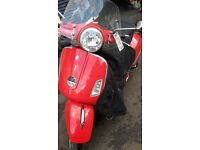 PIAGGIO VESPA --250 GTS--CLEAN 2006--28K--1 X YR MOT--SOLD WITH V5 logbook-250 GTS-NICE RUNNER-nicee