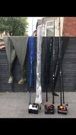 Fishing equipment some brand new otherwise excellent condition