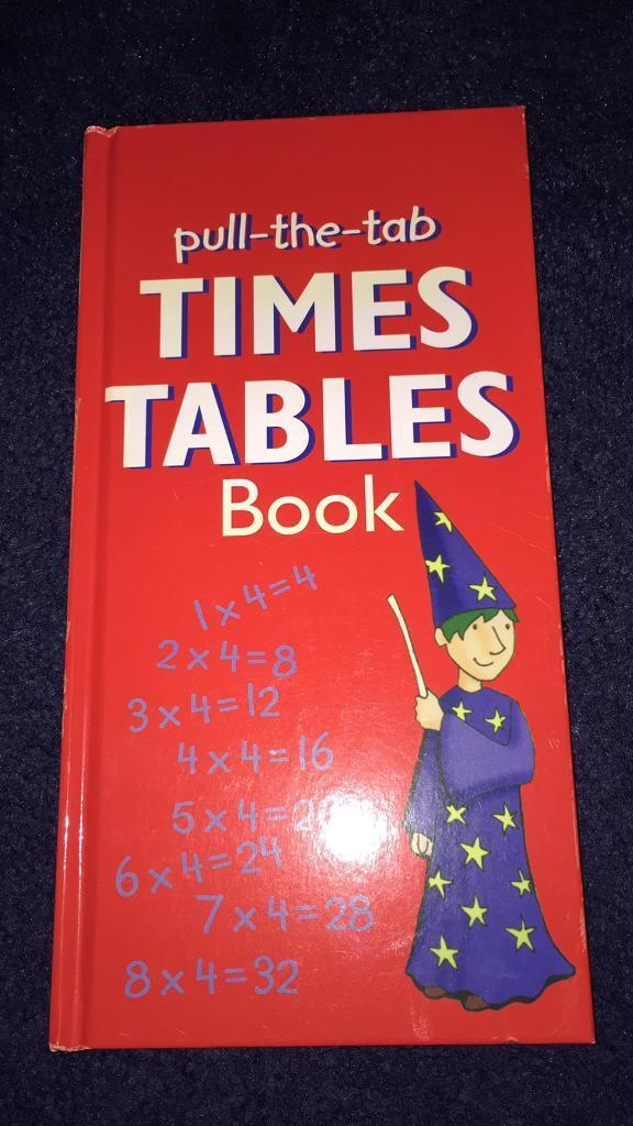 New times tables book