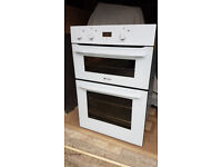 Hotpoint Intergrated Electric Double Oven white fully operational no damages very clean