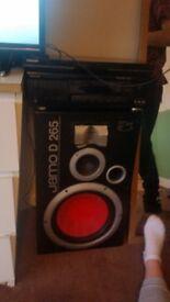 Rent a speaker 265w 3 way bass reflex