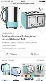 DUALIT ARCHITECT TOASTER AND KETTLE