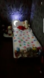 Toddler bed for sale like new