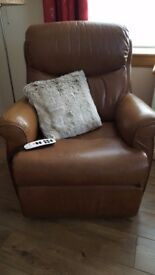 Leather Recliner/Riser
