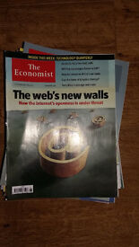 The Economist 35 issues from 2010 £5 or make an offer!
