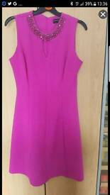 Fushisa pink dress size 8
